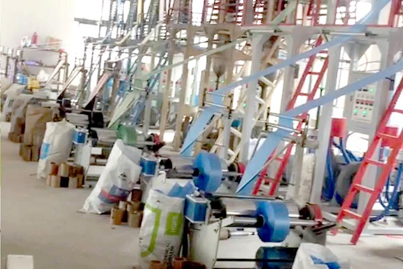 苏州垃圾袋厂家厂房环境