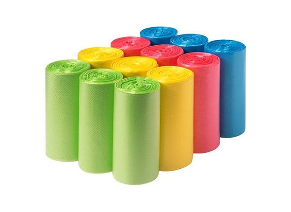 彩色垃圾袋价钱